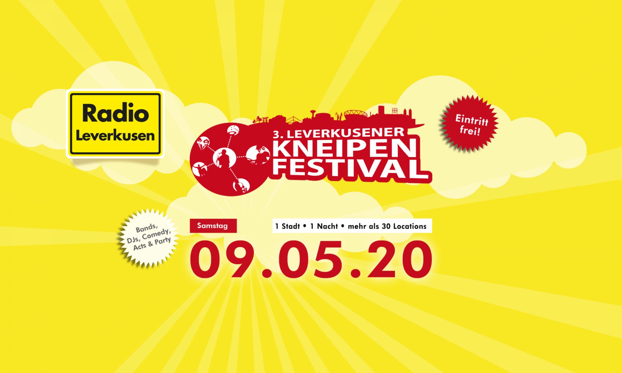3. Leverkusener Kneipenfestival am 09.05.20